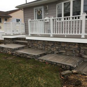long island stoop installation