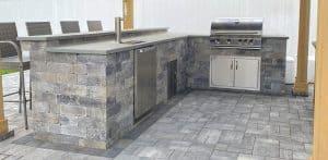 benefits of installing an outdoor kitchen ageless masonry long island